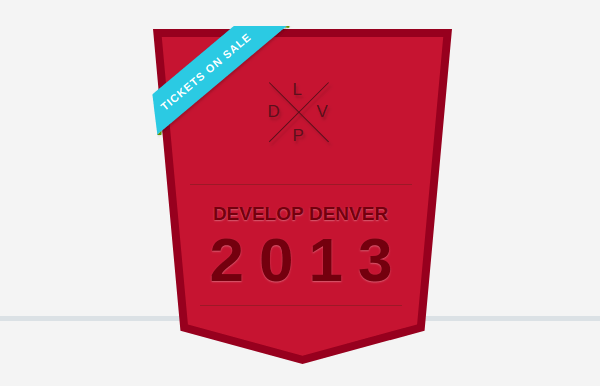 Develop denver badge
